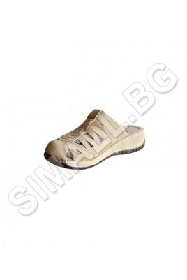 Дамски чехли на платформа в 2 цвята