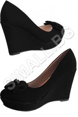 Дамска обувка на платформа