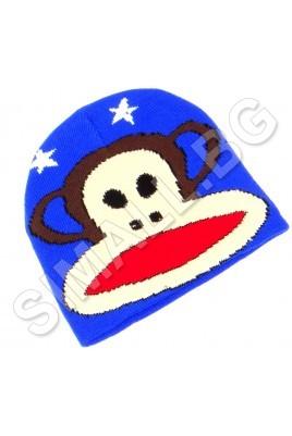 Детска шапка МАЙМУНКА за момчета от 1 до 5 години