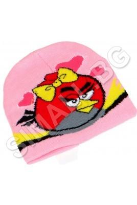 Детска шапка ANGRY BIRDS за момичета от 1 до 5 години