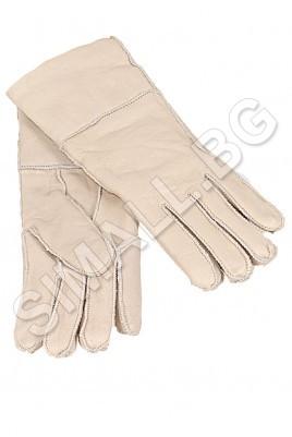 Дамски ръкавици от висококачествена естествена кожа