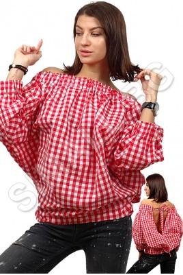 Дамска свободна риза