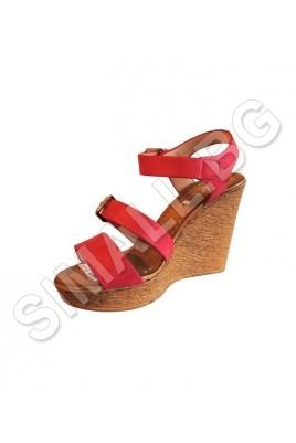 Дамски сандал на платформа в 3 цвята