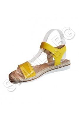 Дамски сандал на платформа в 4 цвята