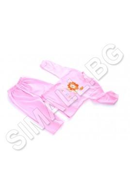 Детска пижама за момичета(размер от 74 см  до 86 см)