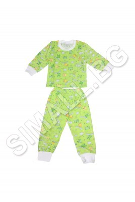 Българска детска пижама-размер от 88см до 128см.