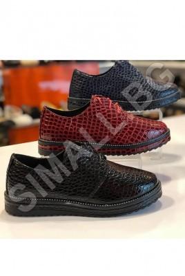 Дамски ежедневни обувки в 3 цвята