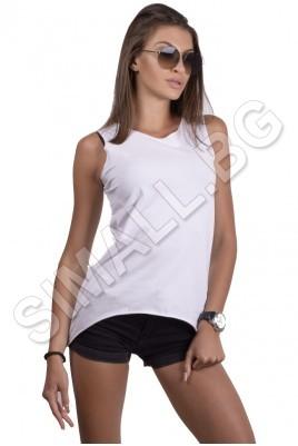 Дамска блуза с интересен гръб