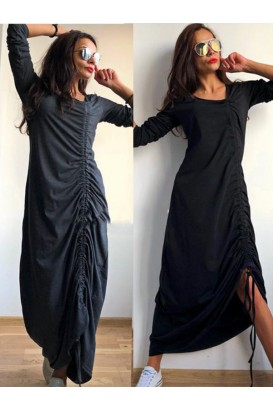 Ladies Long Dress With adjustable lenght