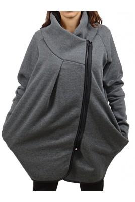 Дамска ватирана връхна дреха в 4 цвята