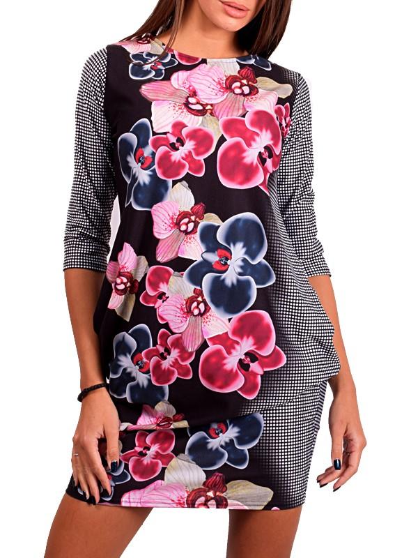 c9119626456 Дамска елегантна рокля тип балон   SiMALL Онлайн Магазин
