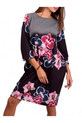 Ladies elegant balloon dress