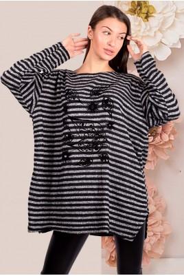 Дамска туника тип блуза