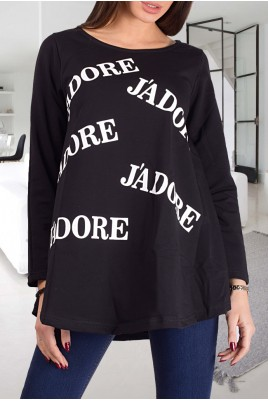 Дамска блуза тип туника в 2 цвята