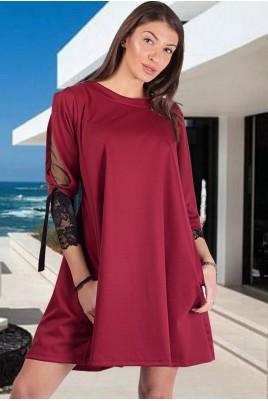 Дамска рокля тип туника в 4 цвята