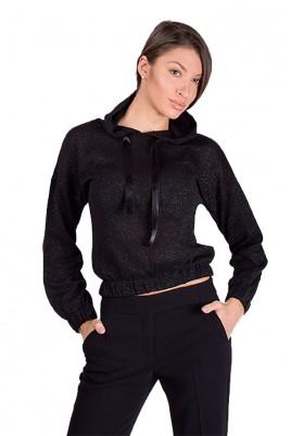 Дамска блуза с качулка в 3 цвята