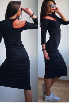 Дамска екстравагантна рокля