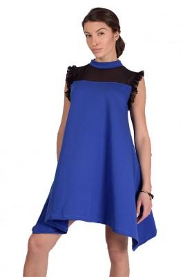 Дамска туника тип рокля в 3 цвята