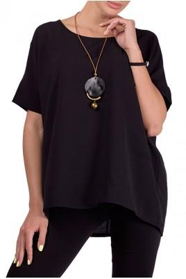 Дамска блуза с колие в 3 цвята