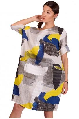 Дамска туника тип рокля в 2 цвята