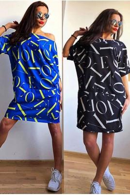 Дамска свободна туника тип рокля