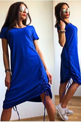 Дамска рокля с регулираща дължина