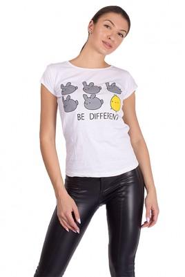 Дамска тениска в 4 цвята
