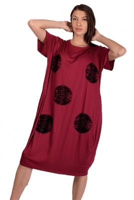 Дамска туника тип рокля до 3XL
