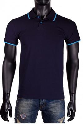 Мъжка тениска с якичка