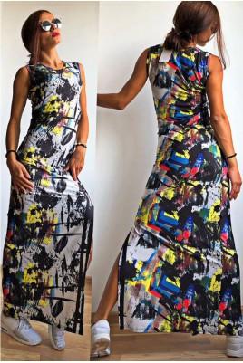 Дамска спортно- елегантна рокля