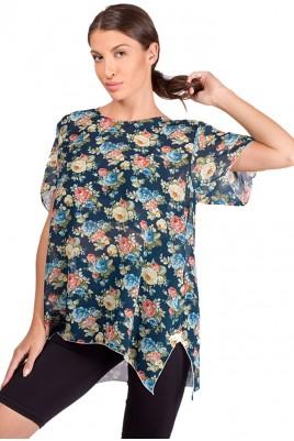 Дамска шифонена блуза