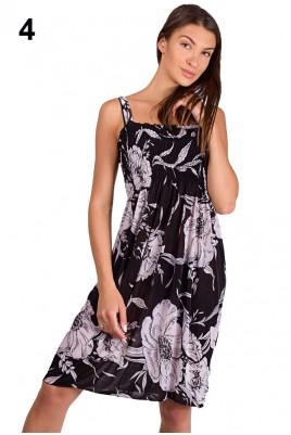 Дамска рокля в 4 разцветки