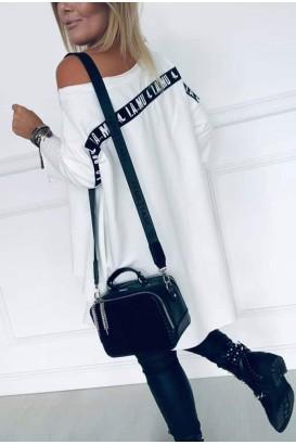 Rochie de tunică pentru femei cu spate interesant până la 2XL