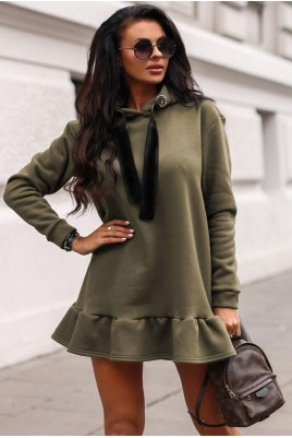 Дамска рокля тип туника в 3 цвята