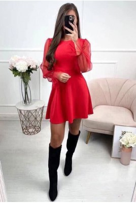 Дамска рокля в 2 цвята