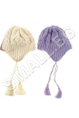 Зимна шапка за деца от 1 до 4 години