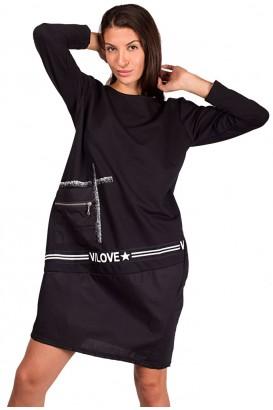 Lady tunic dress