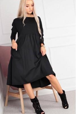 Дамска рокля с джобове Нанси