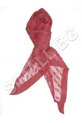 Дамски плетен шал