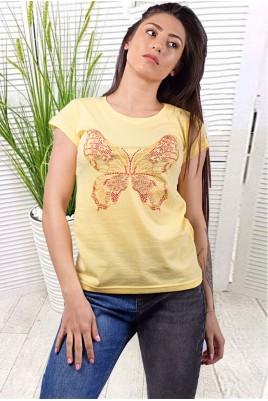 Дамска блуза къс ръкав в 7 цвята