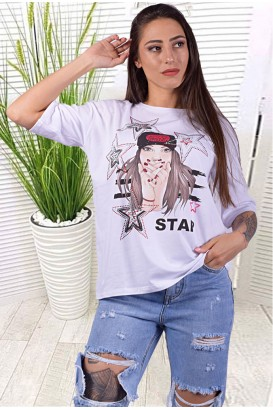 Дамска блуза в 3 цвята