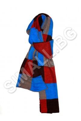 Дамски шал на квадрати