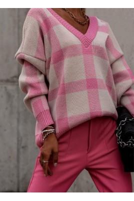 Дамски пуловер в 2 цвята