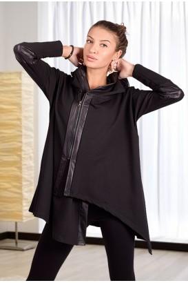 Дамска асиметрична връхна дреха- жилетка