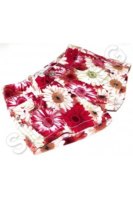 Детски къси панталонки на цветя от 104 до 164 см.