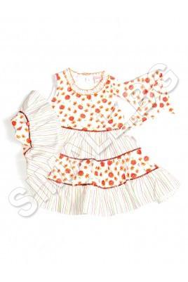 Детска рокля за момиченца от 1 до 3 години