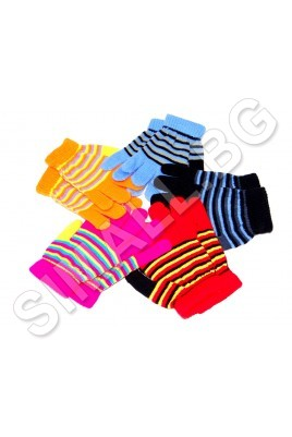 Детски плетени ръкавици за момчета и момичета от 4 до 6 години