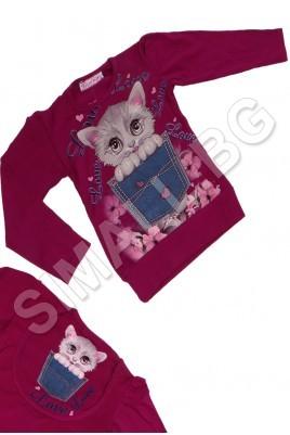 Детска блузка за момичета от 1 до 4 години