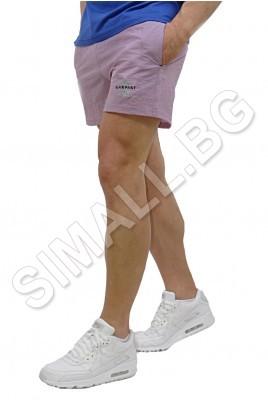 Къси панталони-промазка в светло лилаво