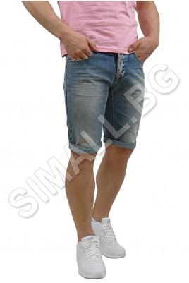 Мъжки изчистени дънкови панталони